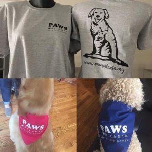 PAWS shirts