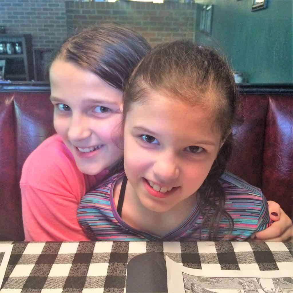 Izzy and Katie