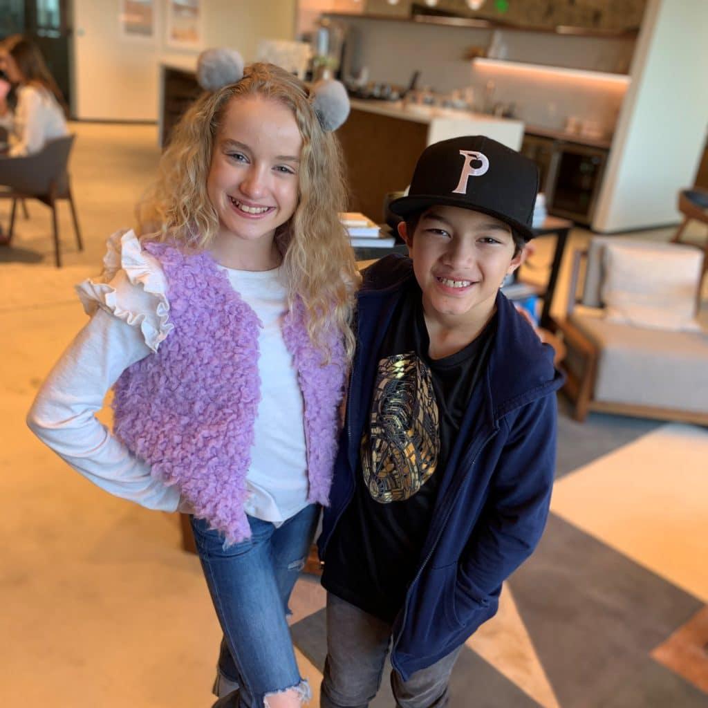 Mylie and Cruz