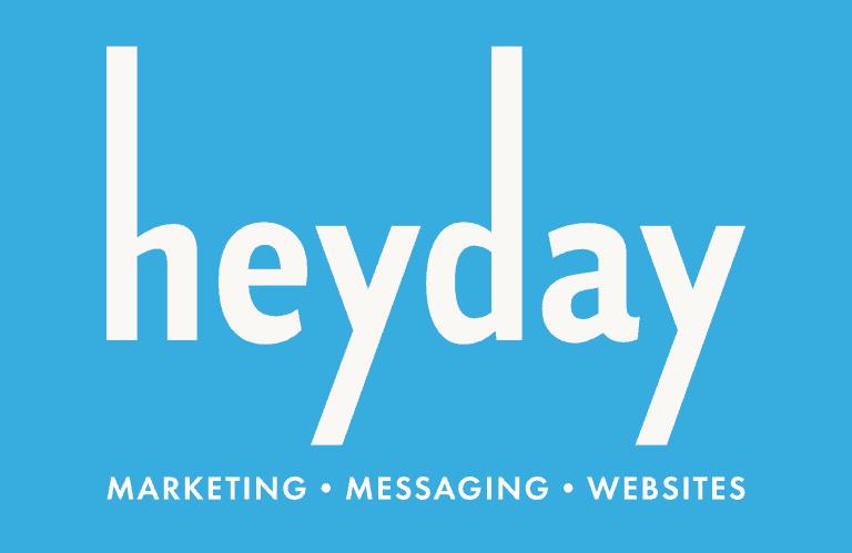 Heyday logo w tagline